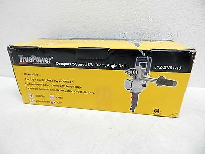 TruePower 1055 HD Compact Industrial 2-Speed 5/8-Inch Right-Angle Drill BOX DMG