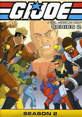 G.I. Joe: A Real American Hero - Series 2, Season 2 [3  (2012, REGION 1 DVD New)