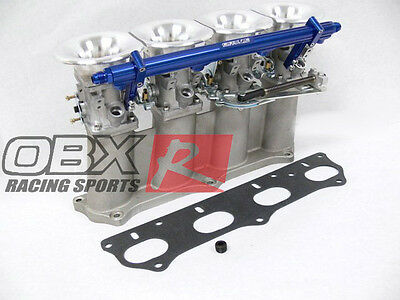 OBX Individual Throttle Body ITB Fit Honda Acura K20A K20A2 Integra Civic Accord