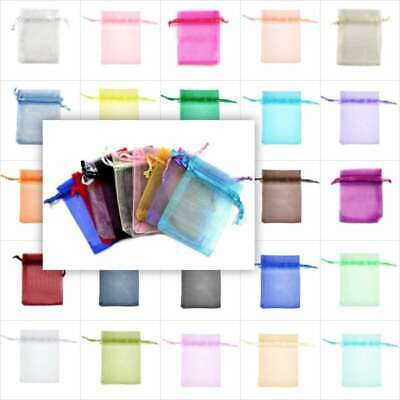 9/12/16/18/20/23/30cm Organza gift Bags Wedding Candy Favour Jewelry Ring Pouch