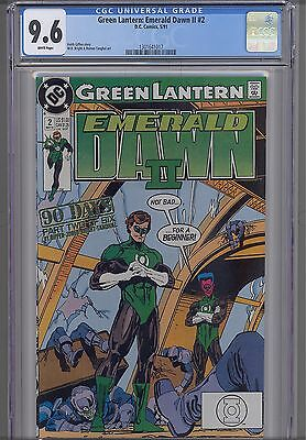 Green  Lantern Emerald Dawn Vol. II #2  CGC 9.6 DC 1991 Comic: NEW CGC Frame