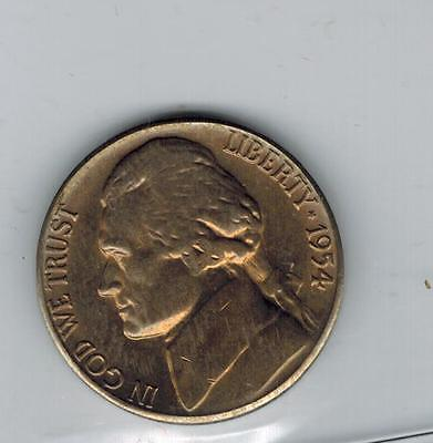 1956 5 Cents Jefferson Nickel Proof United States