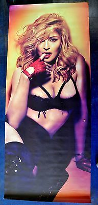 MADONNA 6 foot Vinyl banner MDNA give me all your luvin' Turn up the radio