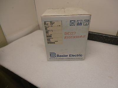 New! Basler Electric BE1-27 Voltage Relay A3E E1K A0A1F BE127