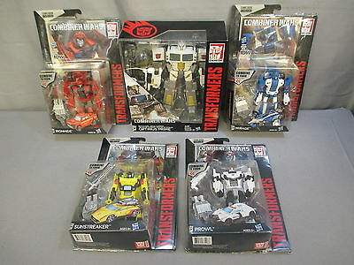 "Transformers Combiner Wars ""OPTIMUS MAXIMUS"" Complete Set Prime,Mirage,Prowl NEW"