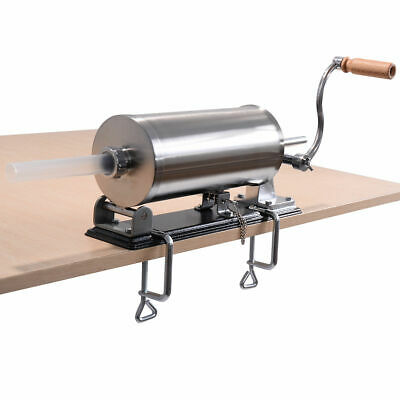 3.6L Sausage Stuffer Maker Meat Filler Machine Stainless Steel Commercial