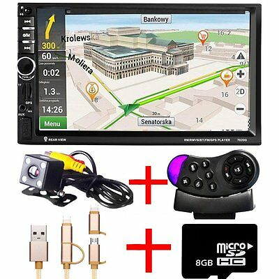4.1'' Car Stereo Audio Single 1 DIN In-Dash MP5 Player Bluetooth With Camera bh