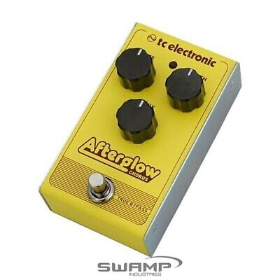 TC-Electronic Afterglow - Analog Chorus Guitar Effects Pedal