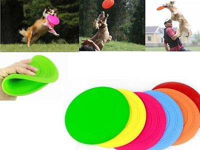 HOC Dog Frisbee Flying Disc Tooth Resistant Outdoor Large Dog Training Fetch Toy
