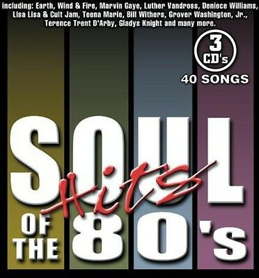 Various Artists - Soul Hits of the 80's / Various [New CD] Boxed Set