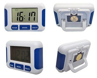 Electronic Digital Kitchen Timer 5 Groups Countdown Alarm Clock 12/24 Hours
