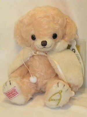 RARE Merrythought Teddy Bear Cheeky Powder Snow 2007 Japan Limited of 200 NEW