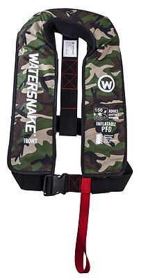 Camo Watersnake Inflatable PFD Level 150 - Manual