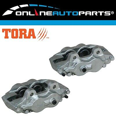 2 Front Brake Calipers suits Landcruiser 1990-98 FJ70 FJ75 FZJ75 HZJ70 HZJ75