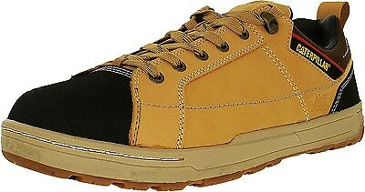 Cat Men's Brode St Leather Ankle-High Leather Industrial and Construction Shoe