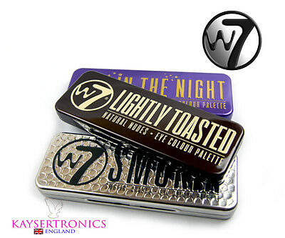 W7 In The Night,SMOKIN',Lightly toasted Eyeshadow Palette 12 Shades