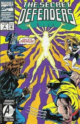 "Comic Marvel ""The Secret Defenders'' #2 1993 NM"