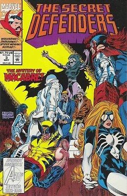 "Comic Marvel ""The Secret Defenders'' #3 1993 NM"