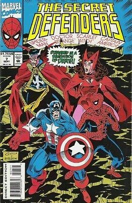 "Comic Marvel ""The Secret Defenders'' #7 1993 NM"