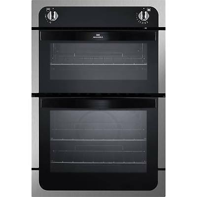 New World NW901G Built in Gas Oven and Separate Grill in Stainless Steel