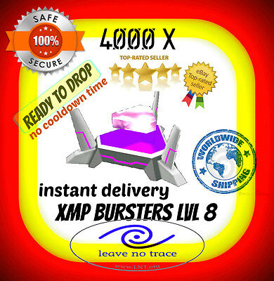 Ingress 4000 Burster L8 Instant Delivery Ready To Drop/use Niantic Lvl8