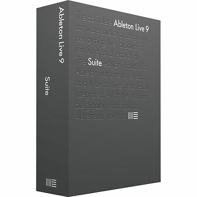 Ableton Live 9 Suite Full Retail Version - Music Production DAW Software