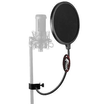 Tiger Professional Studio Microphone Pop Screen with Large 16cm
