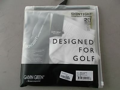 Galvin Green ERIN Ladies Compression Leggings Large White / Aluminium