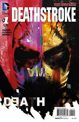 Deathstroke #1 1:25 Variant Ed 2014 Near Mint Dc New 52