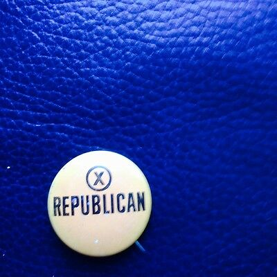 Vintage Democrats (anti GOP) pin
