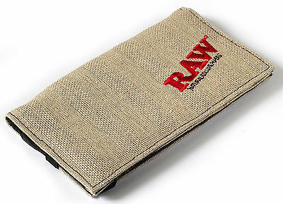 RAW Smokers wallet for rolling paper and tobacco