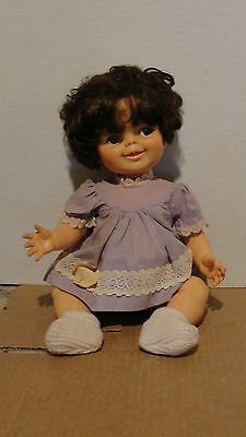 """1968 Ideal """"baby Giggles""""  - Baby Doll - Needs Repair"""