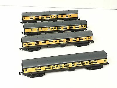 4x Lima N Gauge Mk 1 Coaches GWR Choc/Cream
