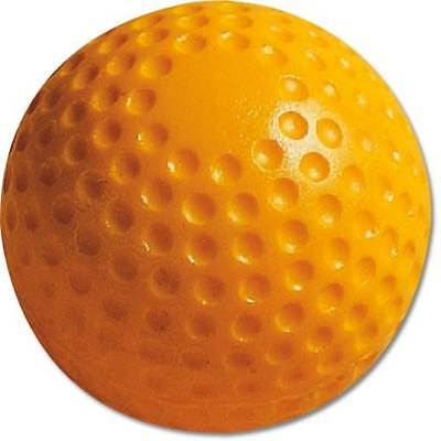 Pitching Machine Baseballs - MacGregor Dimpled Poly Yellow - 12 pack [ID 5815]