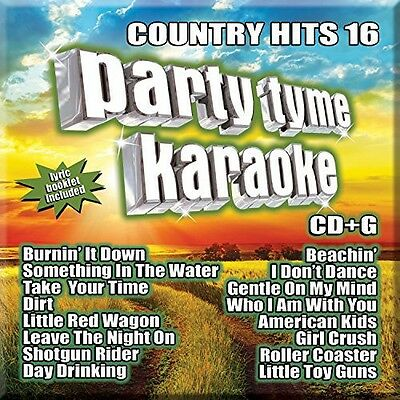 Various Artists, Par - Party Tyme Karaoke: Country Hits 16 [New CD]