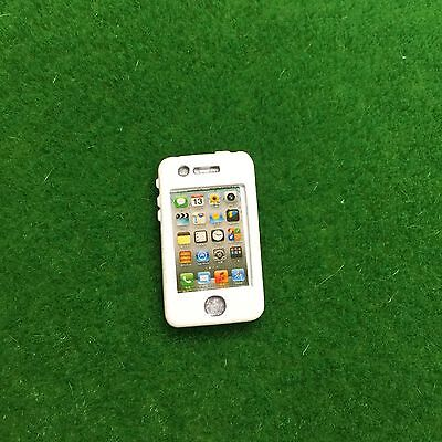 Accessories Miniature Dollhouse Apple I Phone Mobile Phone ( Re-ment Size )