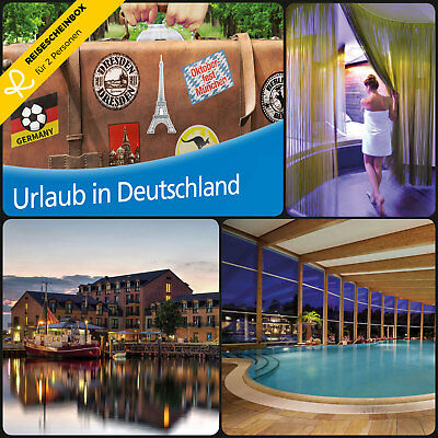 3 Day Short vacation Germany for 2 ca 100 Hotels Travel Voucher Holiday WOW
