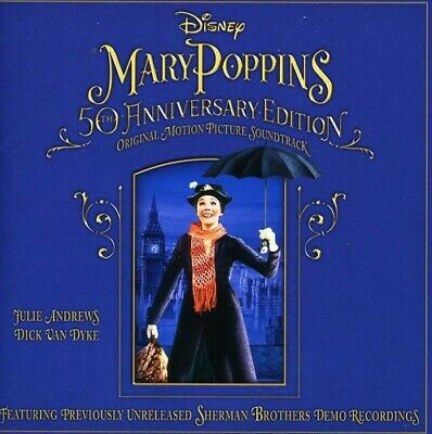 Disney - Mary Poppins 50th Anniversary Edition Soundtrack [New CD] UK - Import