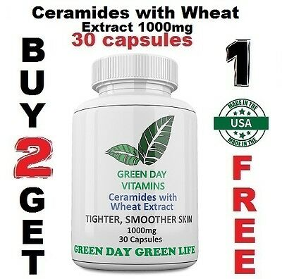 CERAMIDES W/WHEAT PHYTOCERAMIDES ANTI-AGING Wrinkle Remover 1000mg