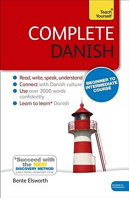 Complete Danish Beginner to Intermediate Course: Book: New edition (Paperback),.