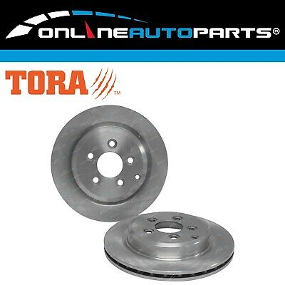 2 Rear Disc Brake Rotors Ford Territory SX SY SZ 2004-2012 RWD + AWD 6cyl Wagon