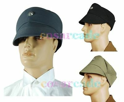 Star Wars Imperial Stormtrooper/Naval Officer Black+Gray+Olive Cosplay Hat Cheap