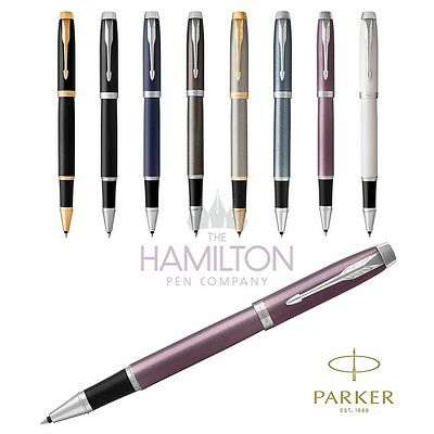 PARKER IM ROLLERBALL PEN - Available in a wide choice of colours