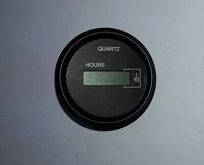lcd hour meter dc 6v 40v self illuminated for genset machine
