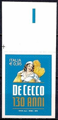 Italy 2016 De Cecco Pasta Factory Food Industry Commerce Business 1v MNH**