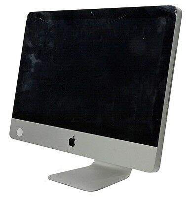 Apple iMac MB950LL/A Intel Core 2 Duo 3.06GHz 4GB 500GB Cracked Glass, Used