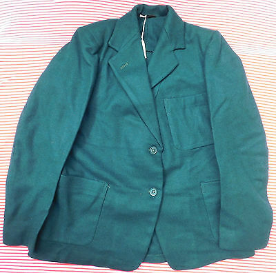 Vintage girls green Blazer Bukta 1950s 1960s School Uniform children clothes 32""