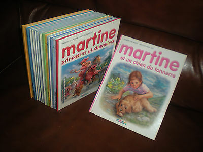 Martine - Marlier - Lot De 16 Tomes Collection Casterman
