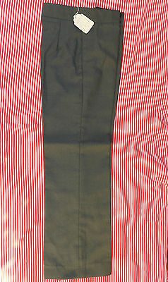 School uniform trousers Vintage 1960s Ladybird UNUSED grey slimline Age 12 13