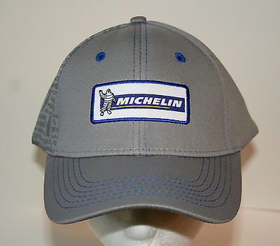Michelin Man Rubber Tire Car Trucker 100% Recycled Baseball Cap Hat New OSFM